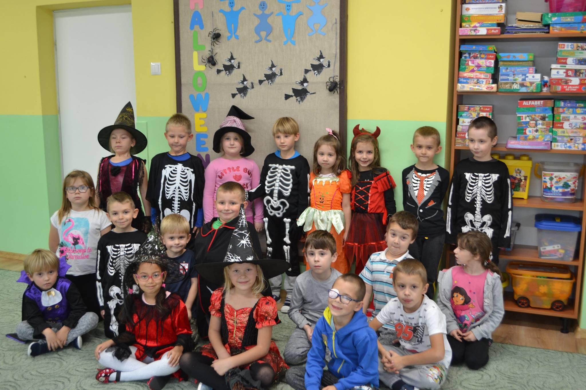 Halloween w grupie Muchomorków