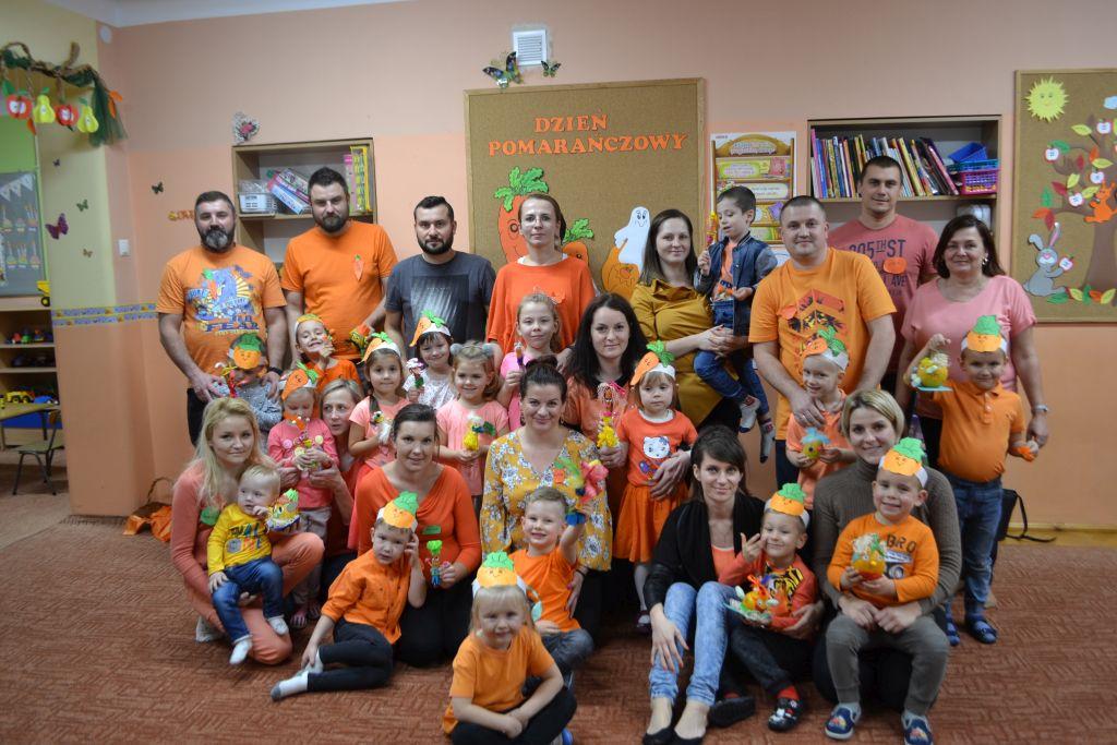 Pomarańczowy dzień u Krasnoludków.