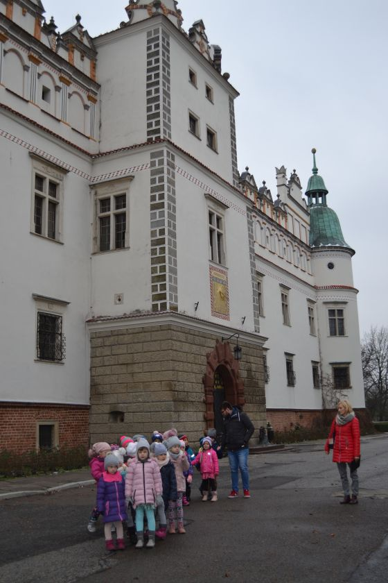 Biedronki w Zamku w Baranowie Sandomierskim.