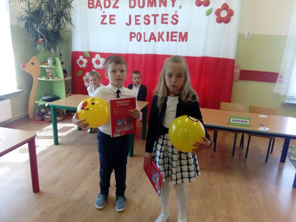 Jestem Polką i Polakiem – konkurs w Woli Baranowskiej.