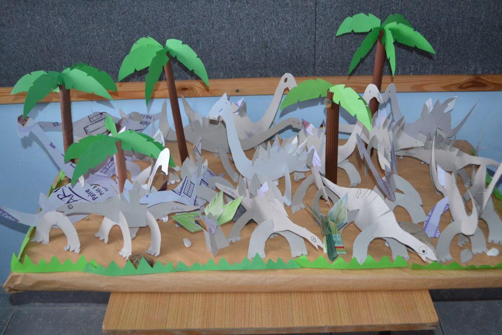 Dzień Dinozaura u Krasnoludków.